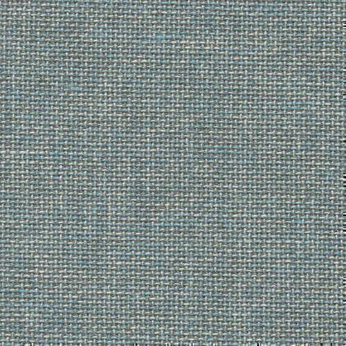 Tissu Holland and Sherry pour veste sur-mesure laine, coton et soie contraste de bleu mer