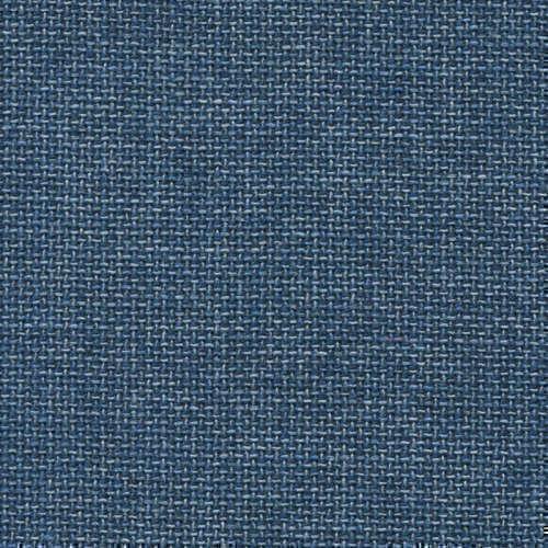 Tissu Holland and Sherry pour veste sur-mesure laine, coton et soie contraste de bleu