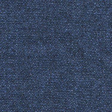 Tissu Holland and Sherry pour veste sur-mesure lin et coton mélange contrasté de bleu France