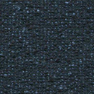 Tissu Holland and Sherry pour veste sur-mesure lin, coton et polyamide mélange bouclé bleu