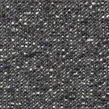 Tissu Holland and Sherry pour veste sur-mesure lin, coton et polyamide mélange bouclé gris et bleu marine