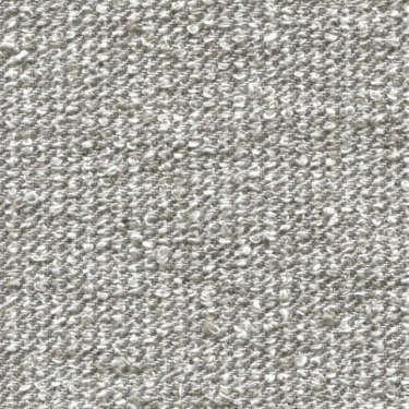 Tissu Holland and Sherry pour veste sur-mesure lin, coton et polyamide mélange bouclé argent