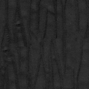 Tissu Holland and Sherry pour veste sur-mesure coton et élastane noir texture nervurée irrégulière