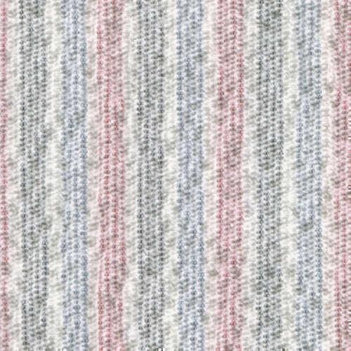 Tissu Holland and Sherry pour veste sur-mesure coton et élastane crème à rayures rouges, bleues et noires
