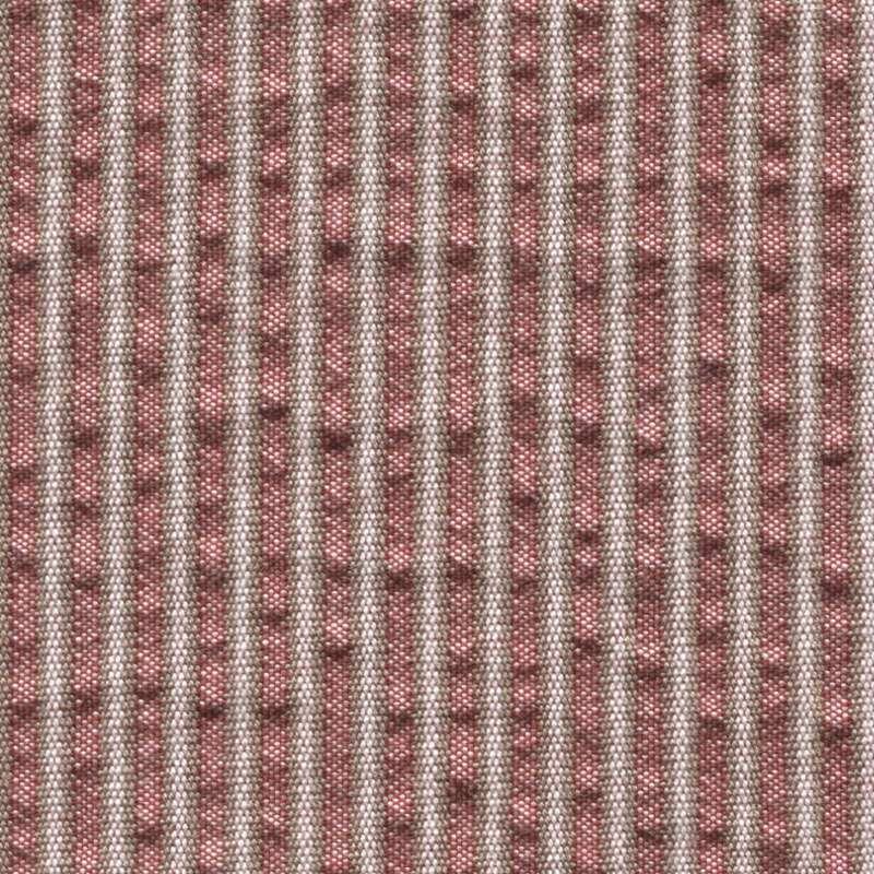 6fabcbb2fbc27 Tissu Holland and Sherry pour veste sur-mesure coton et laine rouge à  rayures beiges