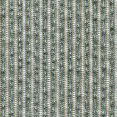 Tissu Holland and Sherry pour veste sur-mesure coton et laine vert à rayures beiges