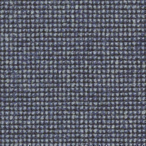 Tissu Holland and Sherry pour veste sur-mesure laine, coton et polyamide bleu clair à petits carreaux