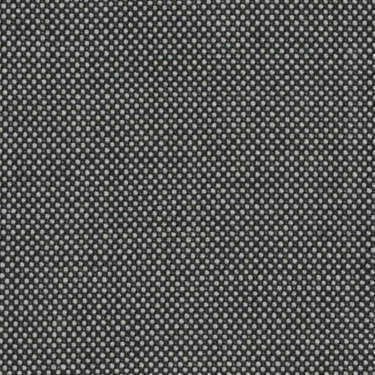 Tissu Holland and Sherry pour costume sur-mesure 100% laine caviar noir et gris