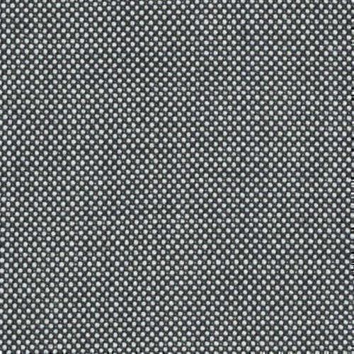 Tissu Holland and Sherry pour costume sur-mesure 100% laine caviar noir et blanc