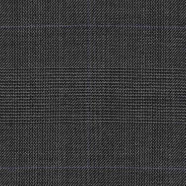 Tissu Holland and Sherry pour costume sur-mesure 100% laine Prince de Galles gris
