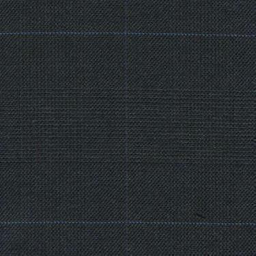 Tissu Holland and Sherry pour costume sur-mesure 100% laine Prince de Galles gris charbon