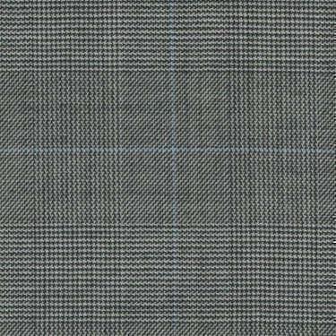 Tissu Holland and Sherry pour costume sur-mesure 100% laine Prince de Galles noir et blanc