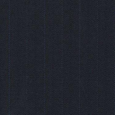 Tissu Holland and Sherry pour costume sur-mesure 100% laine bleu marine à rayures tennis bleu royal
