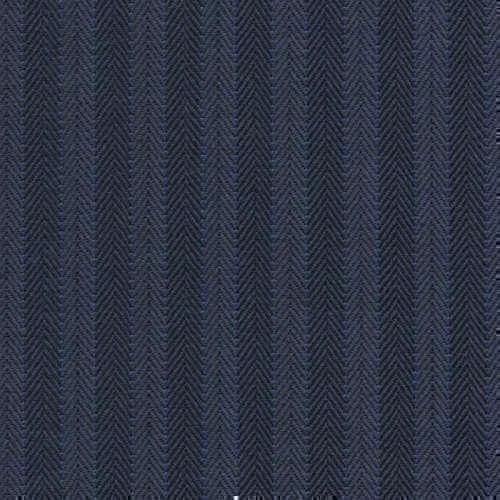 Tissu Holland and Sherry pour costume sur-mesure 100% laine à chevrons bleu