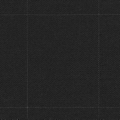 Tissu Holland and Sherry pour costume sur-mesure toile de laine gris charbon à carreaux fenêtre
