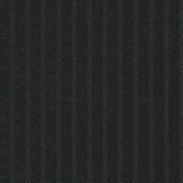 Tissu Holland and Sherry pour costume sur-mesure 100% laine noir à rayures