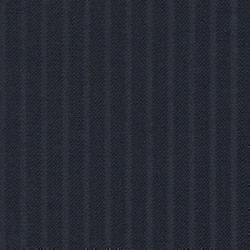 Tissu Holland and Sherry pour costume sur-mesure 100% laine bleu marine à rayures