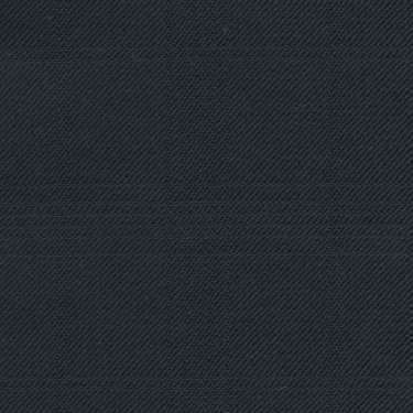 Tissu Holland and Sherry pour costume sur-mesure 100% laine bleu marine à multi-carreaux fenêtre