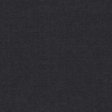 Tissu Holland and Sherry pour costume sur-mesure 100% laine gris charbon uni
