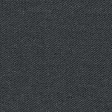 Tissu Holland and Sherry pour costume sur-mesure 100% laine gris foncé uni