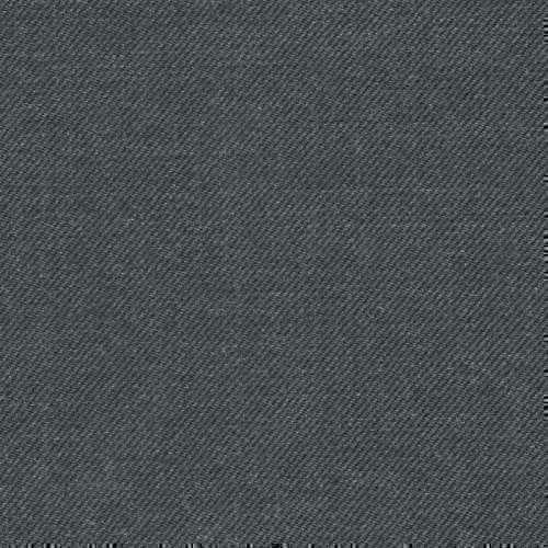 Tissu Holland and Sherry pour costume sur-mesure 100% laine gris uni