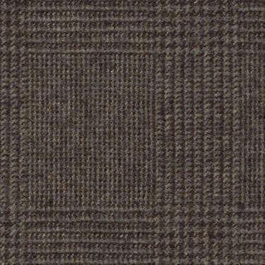 Tissu Holland and Sherry pour costume sur-mesure flanelle Prince de Galles marron ardoise