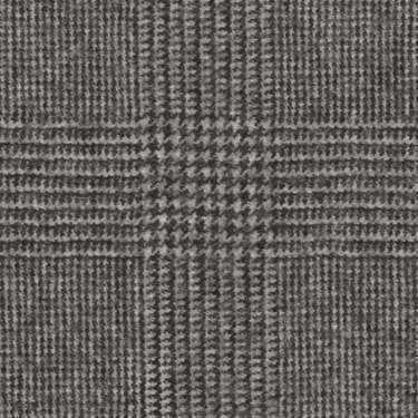 Tissu Holland and Sherry pour costume sur-mesure flanelle Prince de Galles noir et blanc