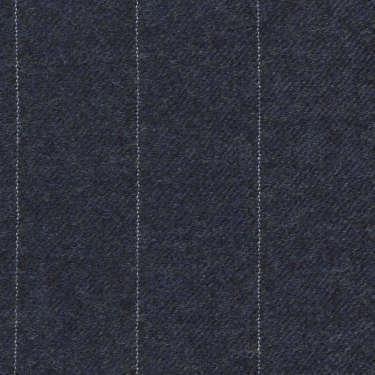 Tissu Holland and Sherry pour costume sur-mesure flanelle bleu clair à rayures