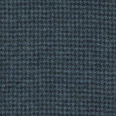 Tissu Holland and Sherry pour costume sur-mesure flanelle pied de poule bleu