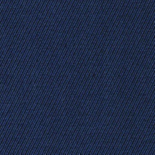 Tissu Holland and Sherry pour pantalon sur-mesure 100% laine twill bleu