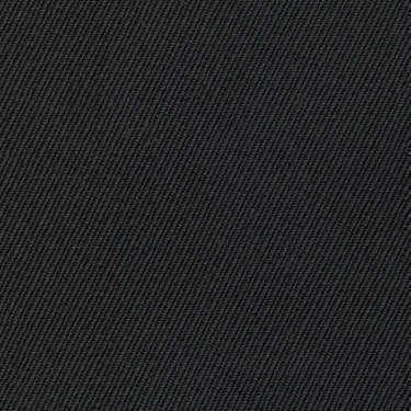 Tissu Holland and Sherry pour pantalon sur-mesure 100% laine twill noir