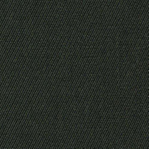 Tissu Holland and Sherry pour pantalon sur-mesure 100% laine twill vert profond
