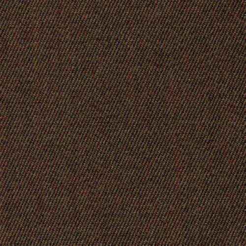 Tissu Holland and Sherry pour pantalon sur-mesure 100% laine twill serré chocolat