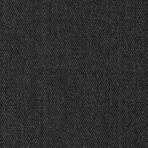 Tissu Holland and Sherry pour pantalon sur-mesure 100% laine twill serré gris charbon