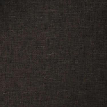 Tissu Tessuti di Sondrio pour costume sur-mesure lin marron foncé
