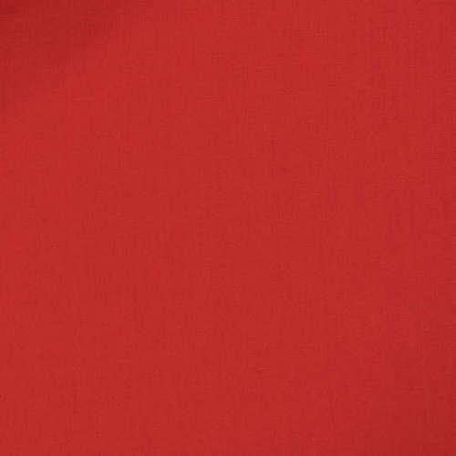 Tissu Tessuti di Sondrio pour costume sur-mesure lin rouge