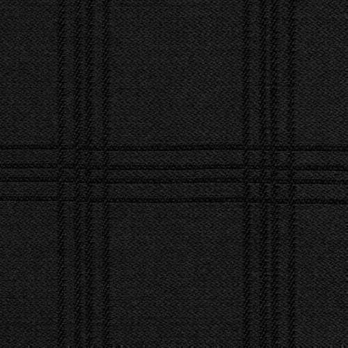 Tissu Holland and Sherry pour smocking sur-mesure 100% laine Prince de Galles noir