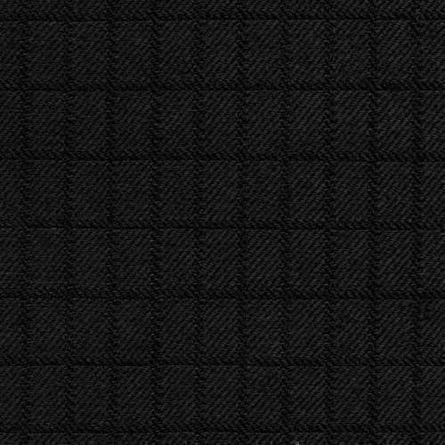 Tissu Holland and Sherry pour smocking sur-mesure 100% laine carreaux noir