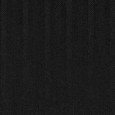 Tissu Holland and Sherry pour smocking sur-mesure 100% laine chevrons noir