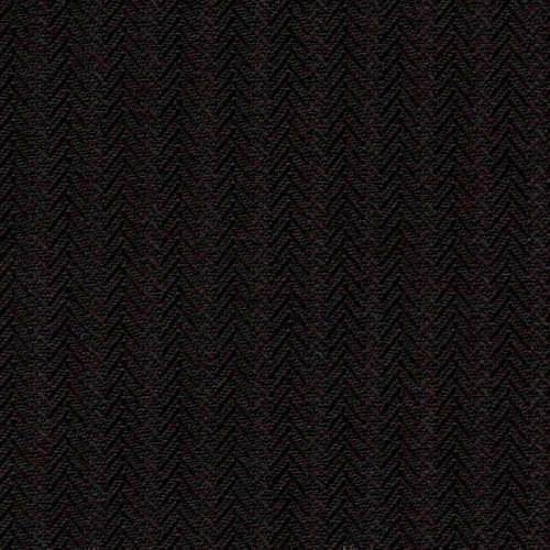 Tissu Holland and Sherry pour smocking sur-mesure 100% laine chevrons et rayures noir