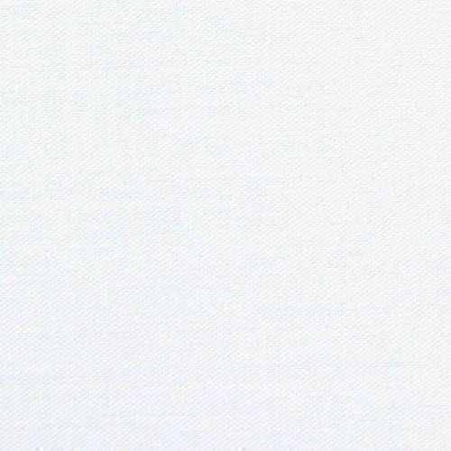 Tissu pour chemise sur-mesure Induo déperlant twill uni blanc