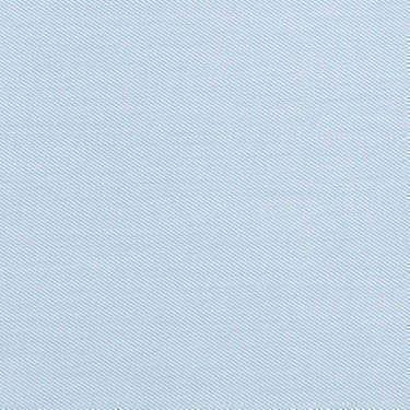 Tissu pour chemise sur-mesure Induo déperlant twill uni bleu clair