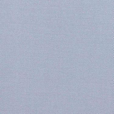 Tissu pour chemise sur-mesure Induo déperlant twill uni bleu
