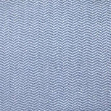 Tissu pour chemise sur-mesure chevron uni bleu
