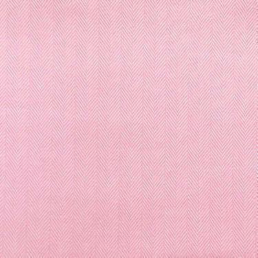 Tissu pour chemise sur-mesure chevron uni rose