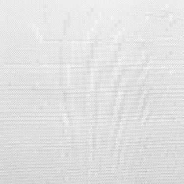 Tissu pour chemise sur-mesure oxford uni blanc