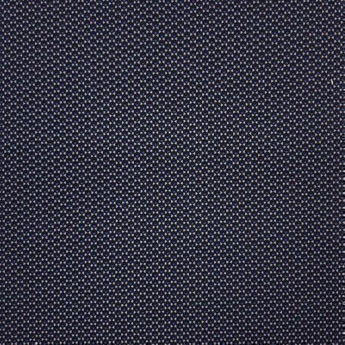 Tissu pour chemise sur-mesure popeline micro motif