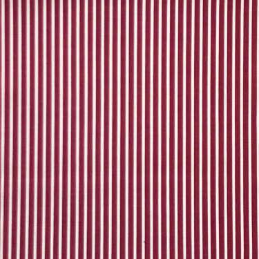 Tissu pour chemise sur-mesure twill rouge rayé