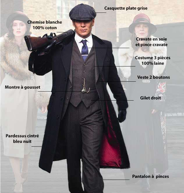cd60e7076a5d2 Le look Peaky Blinders sur mesure par Videlongo | Videlongo